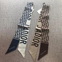regalos multipropósito al por mayor-Marca multiusos bufanda de la muchacha carta de moda impreso venda de la vendimia de alta calidad de seda de sarga bufandas para el regalo