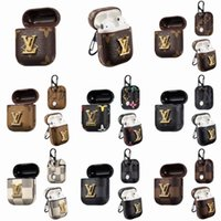 Wholesale jewelry bees for sale - Group buy 2020 For pro case Pouch Designer bee Branding Bluetooth Cover Protective Earphone Case shockproof Anti Lost