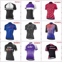Wholesale bike kuota for sale - Group buy LIV and KUOTA mtb team Cycling Short Sleeves jersey women Summer Riding Outdoor Riding Wear Bike Breathable
