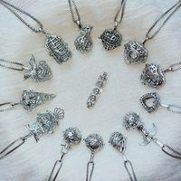 fiesta de la joyería locket al por mayor-Magic Locket Collar de Aceite Esencial Moda Mujer Perfume Difusor Colgante Charms Collar Lady Jewelry Party Gift TTA1528