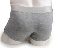 winkel badebekleidung großhandel-2pcs nagelneue Männer große Silberkante reine Baumwolle kleine flache Winkel Unterwäsche sexy Unterhose Bademode hochwertige Mischungsfarbe