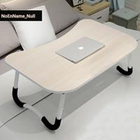 taşınabilir masaüstü standı toptan satış-Flaş satış ürünleri Dizüstü bilgisayar standı bilgisayar masası yatak taşınabilir uygun temizlik katlama kart yuvası masaüstü masa