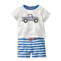 9aae50c25f140 Wholesale designer kids clothes for sale - Boys Clothing Sets INS Hot Sale  Baby Boy Clothes