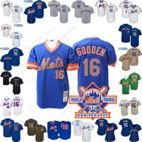 cc8e66a53 Dwight Gooden Mets Jersey Pink Camo Cooperstown Baseball New York Home Away  White Pinstripe Blue Men Women Youth Kid