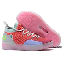 Wholesale kevin durant basketball shoes men resale online - Hot KD EYBL Men Women Basketball Shoe Zoom KD11 EP Athletic Sport Shoes Store Top Quality Kevin Durant New Sneakers Chaussures