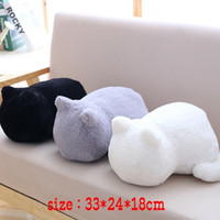 Wholesale present gift doll for sale - Group buy Cat Doll Cartoon Cat Plush Cushions pillow Back Shadow Filled Soft Animal Pillow Toys Kids Christmas Gift Valentine Present
