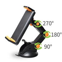 ingrosso supporto per armi-Nuovo supporto pieghevole pieghevole per braccio lungo girevole Supporto da tavolo per cellulare Supporto da tavolo per tablet Supporto per supporto per tablet