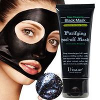 очищающие маски для лица оптовых-Средство для удаления угрей Увлажняющие отшелушивающие маски для лица Глубокое очищение Бамбуковая чистая маска для лица Отшелушивающая черная маска для лица RRA1974