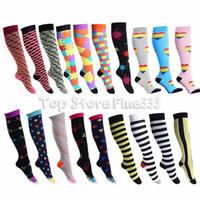 Wholesale nylon compression socks for sale - Group buy Professional Compression Socks Models Sports Stretch Socks Breathable Travel Activities Fit for Nurses Shin Splints Flight Travel Sports