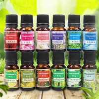 Wholesale essential oils water humidifier resale online - Water Soluble Flower Fruit Essential Oil Relieve Stress Humidifier Fragrance Air Freshener Lavender Aromatherapy Essential Oil BH2321 TQQ
