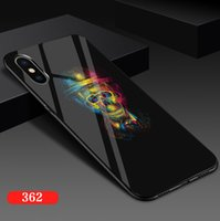 Wholesale case iphone silicon cartoon for sale – best Cartoon Crown Phone Case for IPhone s Plus Silicon TPU Cases for IPhone XR XS Max Letter King Queen Back Cover