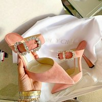 Wholesale Fashion Evening Party Shoes For Women Ladies Sandals High Heels Velvet Wedding Shoes Three Colors Wedding Bridal Shoes