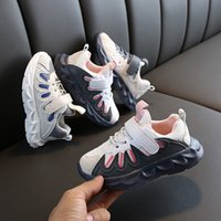 Wholesale high quality shoes for children resale online - New kids boy girl baby High Quality Casual Shoes For Children Blue Beige Pink luxury fashion designer shoes eur