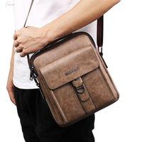 Wholesale mens business satchel resale online - Maioumy Business Bag New Fashion Mens Gentleman Fashion Simple Leisure Single Shoulder Messenger Bags Drop Shipping Sept