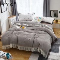 Wholesale comforters quilts bedspreads for sale - Group buy Summer Air Conditioning Quilt Bamboo Fiber Tassels Quilt Soft Breathable Throw Blanket Thin Comforter Bed Cover Bedspread Home