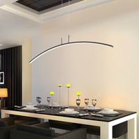 moderner schwarzer pendelleuchte kronleuchter großhandel-Moderne anhänger kronleuchter beleuchtung für büro esszimmer wohnzimmer küche wohnkultur lustre led licht schwarz kronleuchter