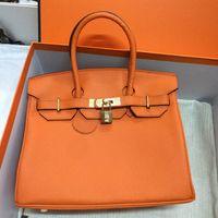 orijinal inek derisi el çantaları toptan satış-Altın Donanım 25 renkler 2019 Marka Moda Lüks Çanta Tasarımcısı Çantalar Bayan H K Kılıf Dana Hakiki Deri Omuz Crossbody Çanta