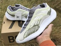 Wholesale glow shoes for sport resale online - 2019 Originals V3 Azael Kanye West Running Shoes For Men Women Wave Runner Glow In The Dark Authentic Sports Sneakers With Box