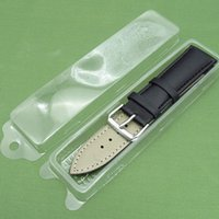 Wholesale plastic packing straps for sale - Group buy Clear Plastic Watchband Packing Box Watch Strap Storage Box Protection Case