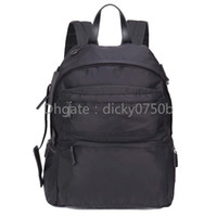 Wholesale business backpack notebook for sale - Group buy notebook back pack fashion designer back pack shoulder bag handbag presbyopic package messenger bag parachute fabric laptop backpacks