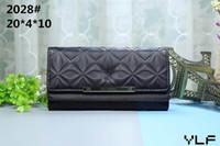 beaux sacs à main en cuir achat en gros de-Vente en gros - 2019 nouveau style de femme en cuir pu grand portefeuille mode belles détenteurs de cartes portefeuilles taille 20x4x10cm bourse 2028