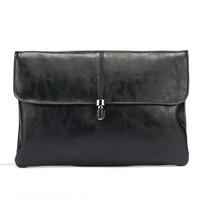 novas bolsas fosco venda por atacado-Novo bloqueio de moda saco de embreagem homens mulheres bolsas fosco saco de envelope de negócios PU pacote de arquivo IPAD carteira de alta qualidade saco de Pulso