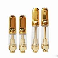 Wholesale pen perfumes resale online - Glass Perfume Bottles with Atomizer Vape Cartridges Ceramic Coils Empty Vape Pen Cartridges E cigs Glass Tanks for Thick Oil TH205 Carts