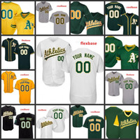 9e31ac390 Custom 2019 Athletics Stitched Jersey Mens 33 Jose Canseco 24 Rickey  Henderson Oakland 34 Rollie Fingers All Sewn Embroidered Jerseys