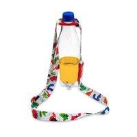 ingrosso cordicella per bambini-Cinghia per bebè Beverage Bottle Strap Bottiglia d'acqua Fibbia per cordino Portatile Back Water Lanyard Cup Accessori