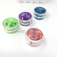 Wholesale 5a yoyo resale online - Lighted YoYo Ball New Yo Yo Children Clutch Mechanism Yo Yo Toys for Kids Toy Party Entertainment