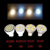 MAX-LED MR11 LED Light Bulb GU4 3W SMD 220-240V Cold White Spotlight Spot UK