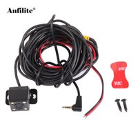 Wholesale car gps for sale - Anfilite Car Rear View Camera mm Pin Jack Port Video With LED Night Vision For GS63H M06 DVR Video Recorder Waterproof GPS