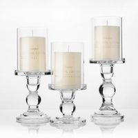 candelabros de vidrio pilar al por mayor-1pc 3,46 / 4,52 / 5,51 en los sostenedores de vela de cristal de 3 \
