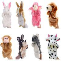 Wholesale monkey puppets for sale - Group buy Plush Hand Puppets Plush Animal Toys for Imaginative Pretend Play Stocking Storytelling Bunny Dog Milk Cow Koala Monkey Sheep