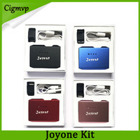 mod-pod groihandel-Authentic Joyone Kit mit Vape Pen Battery 410mAh Preheat Box Mod und Pod Cartridge USB-Ladegerät-Kits 100% Original vs vmod