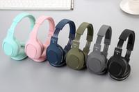 Wholesale computer models resale online - CA headphones Fashion models Subwoofer Bluetooth mobile phone computer headset wireless headphones with card gaming headse