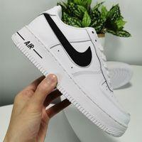 vendas designer de sapatos on-line venda por atacado-Mens mulheres af1 sapatos designer de tênis clássico airlis todas as forças negras brancas 1 um baixo alto vermelho azul venda online