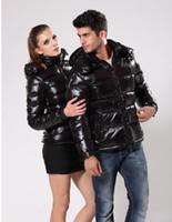 casacos de mulher quente venda por atacado-2018 HOT! Frace Marca Homens mulheres vestido Casual Jacket para baixo Quente Collar MAYA Baixo Coats Mens Outdoor Fur Feather Brasão outwear casacos de inverno