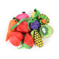 bonitos totes reusáveis da compra venda por atacado-Legumes, Fruta, Verde Supermercado Shopping Bag Recycle portátil Folding Large armazenamento reutilizável Totes Eco-friendly Bags ST021 bonito