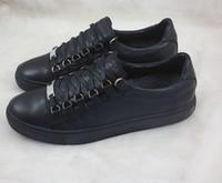 бесплатный га оптовых-Бесплатная доставка Оптово-новый натуральная кожа мужчины повседневная обувь арена Bal * nci * ga 5 цвета с низким верхом обувь