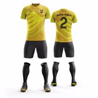 trikots setzt porzellan großhandel-China Großhandel schnell trocknend 100% Polyester ärmellose Fußballuniform für Männer volle Sublimation benutzerdefinierte Jersey-Sets
