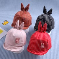 Wholesale baby duck hat resale online - Baby hat spring and autumn duck tongue hat girl sun Korean version tide