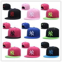 ingrosso snapback di new york per gli uomini-Top Vendita Snapback Caps New York Regolabile Baseball Cappelli Snapbacks di alta qualità Sport uomini donne berretto