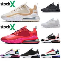 Wholesale music electronics resale online - 270 React BAUHAUS Mens Running Shoes Equestrian Electronic Music Travis Scott Phantom Summit White Optical Hype Womens Designer Sneakers