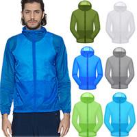 Wholesale women s bicycle jackets resale online - Women Men Windproof Jacket Outdoor Bicycle Sports Quick Dry Windbreaker Coat Top jaqueta masculino