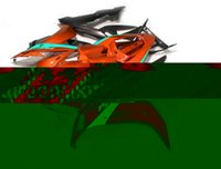 kit de carenagem yzf r1 laranja preto venda por atacado-Novas Carenagens ABS Molding motocicleta kits próprios para a Yamaha YZF-1000-R1 2004 2005 2006 04 05 06 carroçaria carenagem definir preto laranja