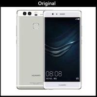 huawei google telefon großhandel-Air 100% ursprüngliches Huawei P9 3GB / 4GB RAM 32GB / 64G ROM Octa Kern Huawei Telefon Kirin 955 5,2inch Dual-SIM-Karten 12.0mp VS Huawei P10