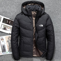 ingrosso l'uomo d'inverno l'oca in giù parka-Novità The North Winter Men Jacket Parka Warm Goose Down Cappotti Soft shell Cappelli capispalla outdoor outdoor faccia abbigliamento maschile giacche firmate