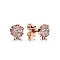 lose bespannungsperlen großhandel-Neue s925 Sterling Silber Schmuck DIY String Ornamente Perlen Ohrringe Armband Armband lose Perlen Zubehör