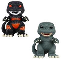 ingrosso figurine del fumetto-FUNKO POP Godzilla Figurine Film Figurine Periferia Modello PVC Giocattoli Ornamento creativo Cartoni animati Regali squisiti Ragazzi Bambini 55bx N1